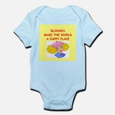 blondes Infant Bodysuit