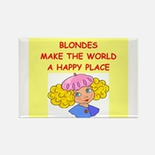 blondes Rectangle Magnet