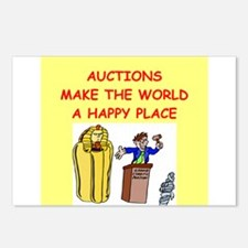 auctions Postcards (Package of 8)