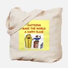 auctions Tote Bag