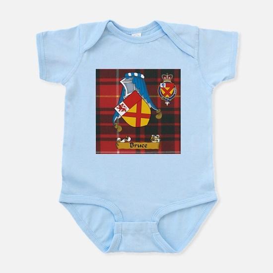 Bruce Scottish Family Name Infant Bodysuit