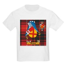 Bruce Scottish Family Name T-Shirt