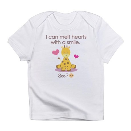 Cute giraffe Infant T-Shirt