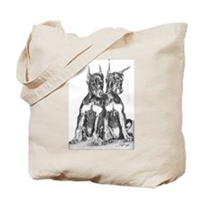 new Tote Bag with Dobermans