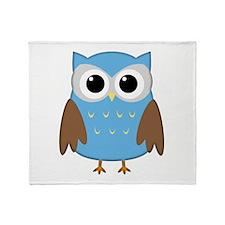 Cute Owl Throw Blanket