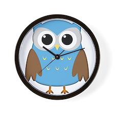 Cute Owl Wall Clock