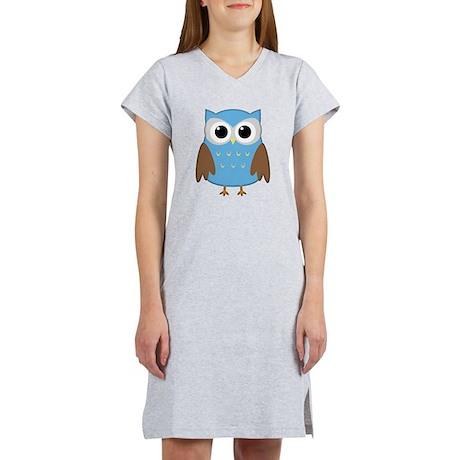 Cute Owl Women's Nightshirt