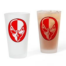 Skull Test Drinking Glass