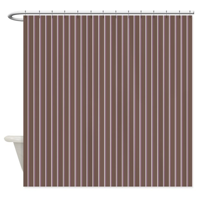 pinstripe 2 color neopolitan shower curtain by admin