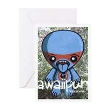 Greedy Mascot Photo Greeting Card