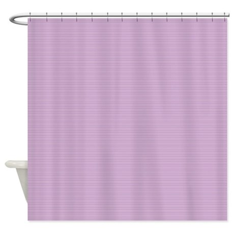 Stripes Tiny Purple Shower Curtain By Admin Cp45405617