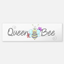 Queen Bee Bumper Bumper Sticker