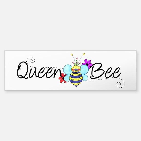 Queen Bee Sticker (Bumper)