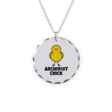 Archivist Chick Necklace
