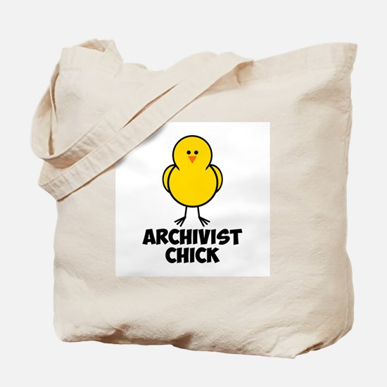 Archivist Chick Tote Bag