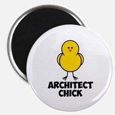 "Architect Chick 2.25"" Magnet (10 pack)"