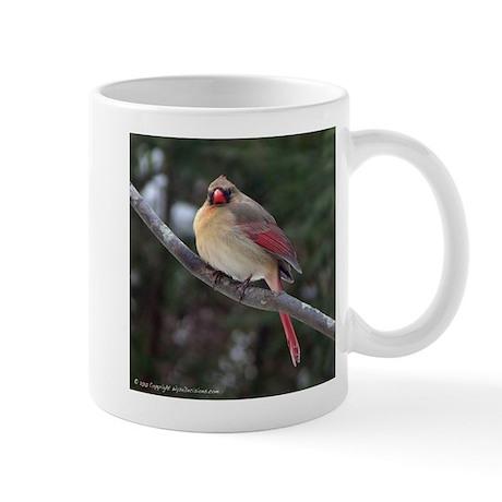 Best Female Cardinal Mug