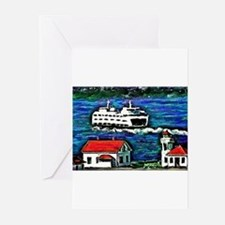Unique Whidbey island Greeting Cards (Pk of 20)