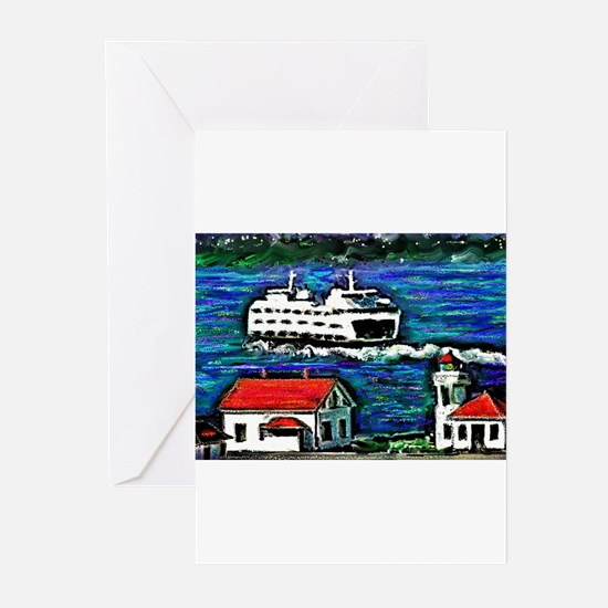 Cute Whidbey island Greeting Cards (Pk of 20)