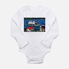Unique Lighthouse Long Sleeve Infant Bodysuit