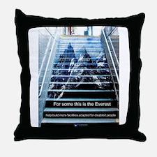 Cute Disability Throw Pillow
