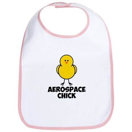 Aerospace Chick Bib