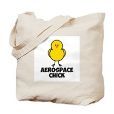 Aerospace Chick Tote Bag