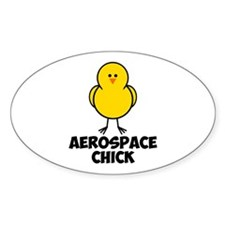 Aerospace Chick Decal