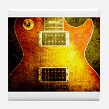 VINTAGE GUITAR Tile Coaster