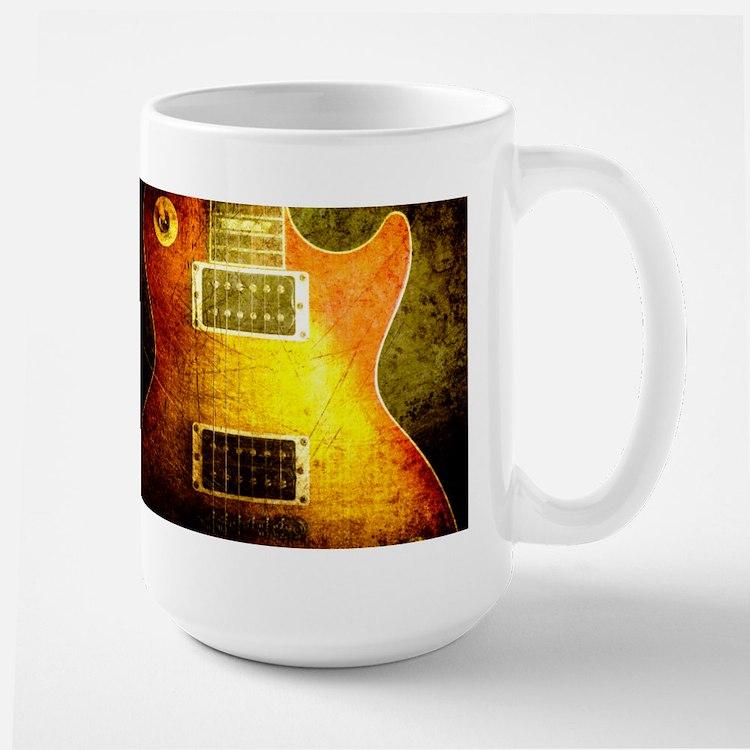 VINTAGE GUITAR Large Mug