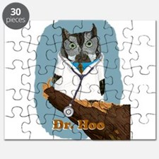 Dr. Hoo withText Puzzle