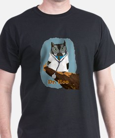 Dr. Hoo withText T-Shirt