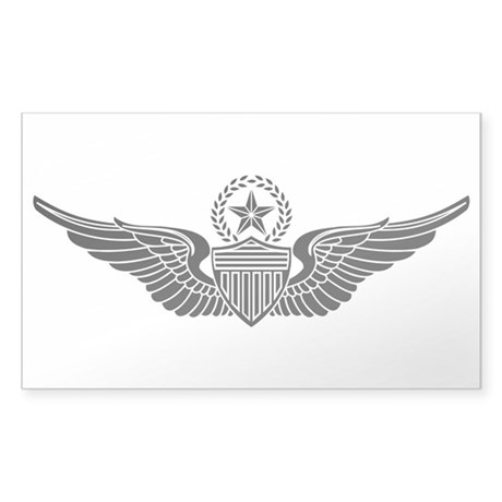 Aviator - Master B-W Sticker (Rectangle)