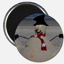 "Floridian Snowman 2.25"" Magnet (10 pack)"