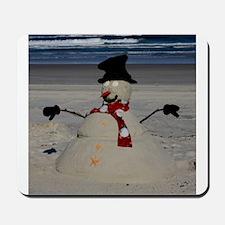 Floridian Snowman Mousepad