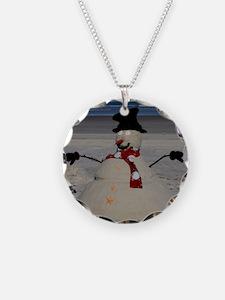 Floridian Snowman Necklace