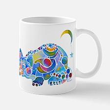 Cat of Moon and Stars Mug