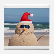 Sandman Holidays Tile Coaster
