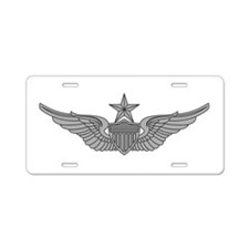 Aviator - Senior Aluminum License Plate