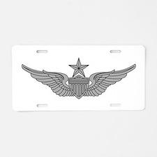 Aviator - Senior Aluminum License Plate