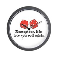 Another Roll in Life Wall Clock