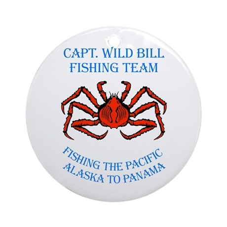 WIld Bill Fishing Team Ornament (Round)