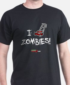 I Lawnmower Zombies! T-Shirt