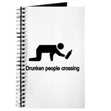 Drunken People Crossing Journal