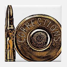 Corrections Bullet Tile Coaster