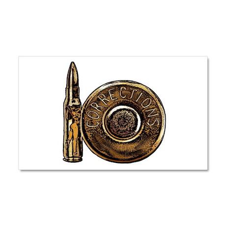 Corrections Bullet Car Magnet 20 x 12
