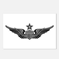 Aviator - Senior B-W Postcards (Package of 8)