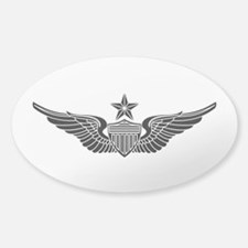 Aviator - Senior B-W Sticker (Oval)