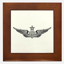 Aviator - Senior B-W Framed Tile