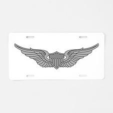 Aviator Aluminum License Plate